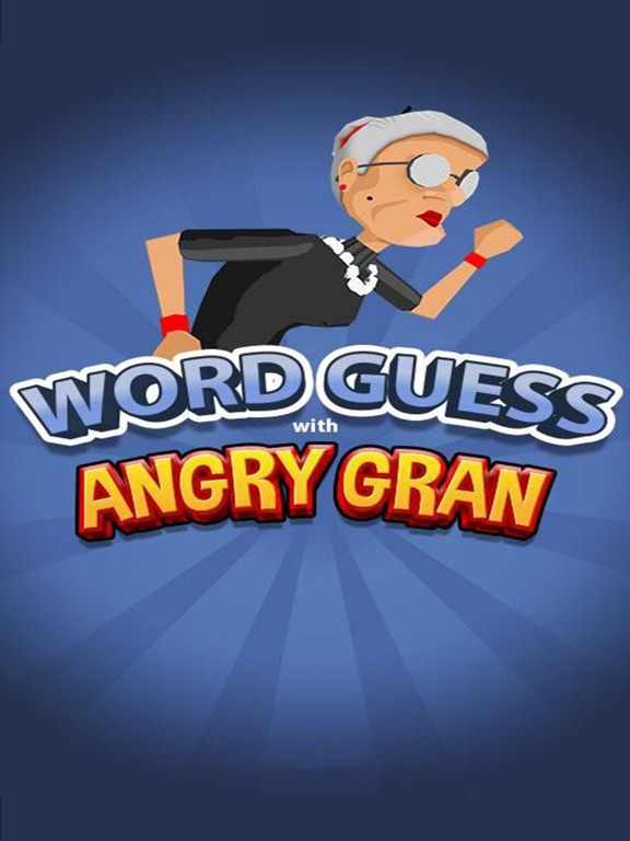 Word Guess with Angry Gran на iPad
