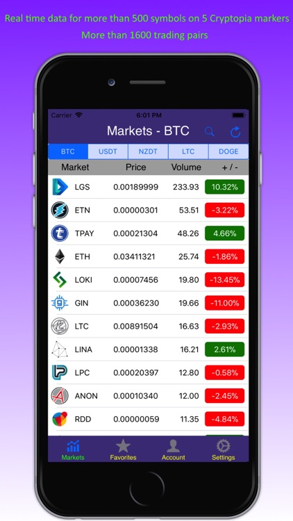 Mobile Cryptopia screenshot-0