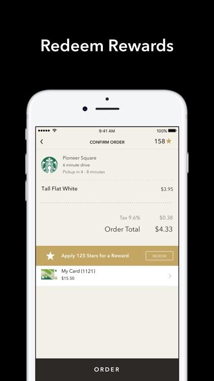 Starbucks screenshot-4