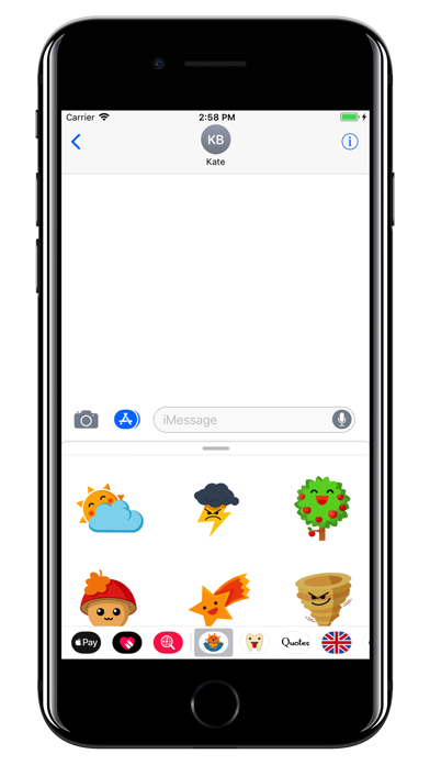 Weather stickers - Sun emoji | App Price Drops