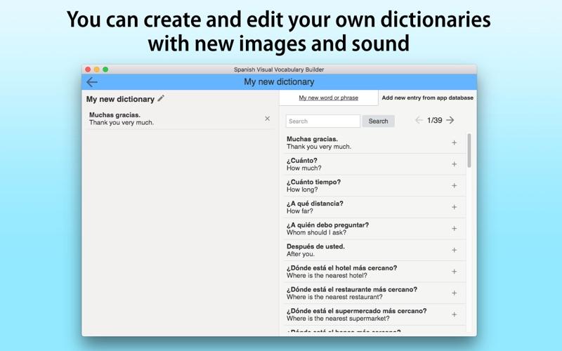 Spanish Vocabulary Builder screenshot 5