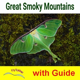 Great Smoky Mountains National Park GPS map