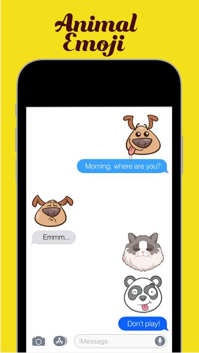 Animal Emoji - Face Expression screenshot three