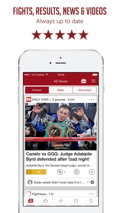 SF - Boxing News and Results