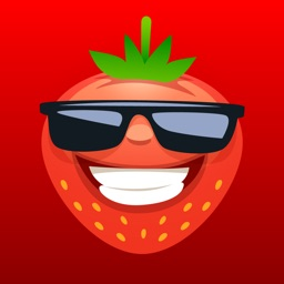 Funny Fruits Emojis Sticker IM