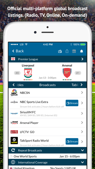 Live Football TV - Live Scores by Live Sport Interactive LLC