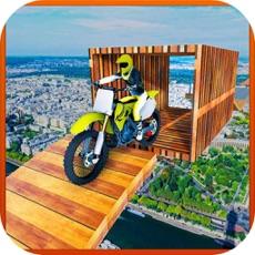 Activities of City Motobike Stunt