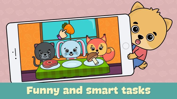 Toddler games for girls & boys screenshot-0