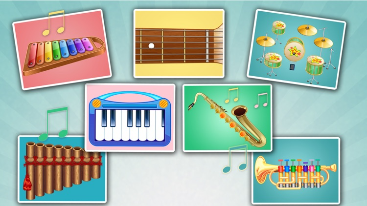 Kids Musical Instruments - Play easy music for fun screenshot-0