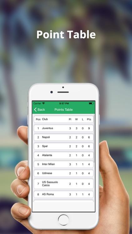 Serie A Football Live Score screenshot-3