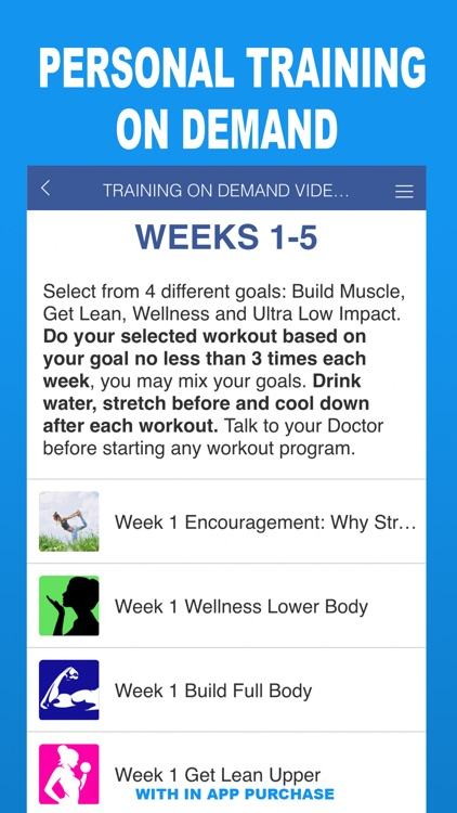 WhenEver Fitness On Demand screenshot-4