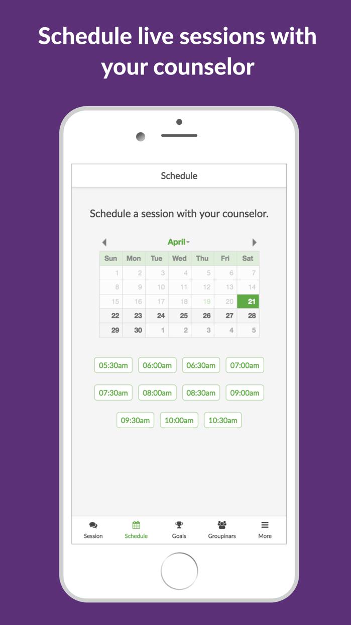 BetterHelp - Online Counseling Screenshot