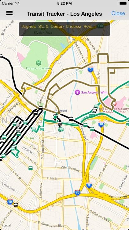 Transit Tracker - Los Angeles