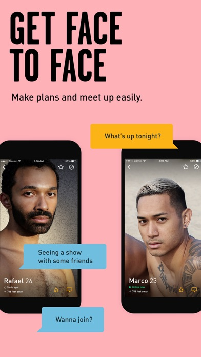 Grindr - Gay chat screenshot 4