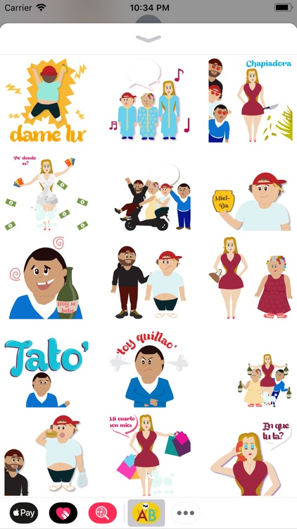 Stickers Dominicanos