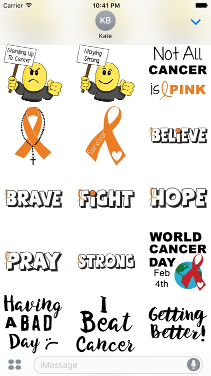 Leukemia Cancer Stickers