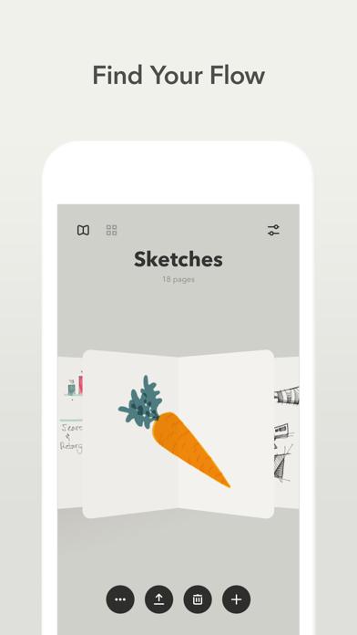 Paper, un carnet à croquis sur iPad-capture-2