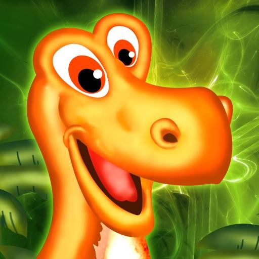 динозавр остров - милые звери против охоты пещерных людей - бесплатная версия