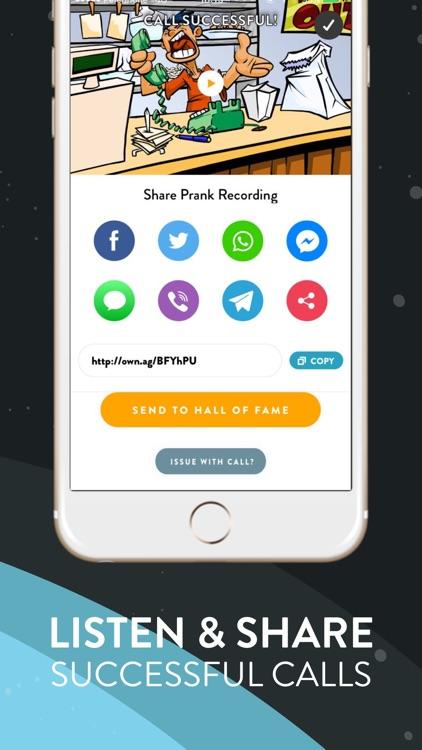 Ownage Pranks - Send Prank Calls Automatically screenshot-3