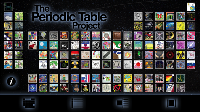 The periodic table project on the app store screenshots urtaz Image collections