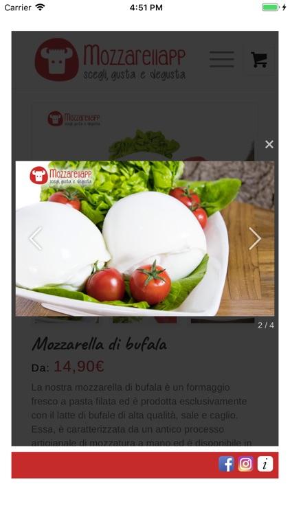 Mozzarellapp screenshot-3