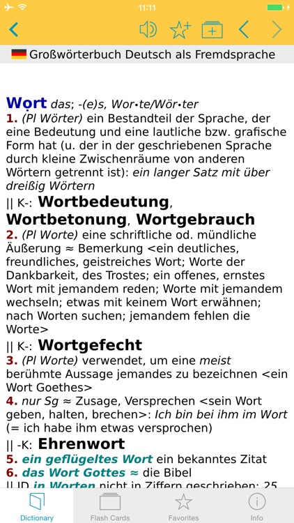 German Learner's Dictionary screenshot-4