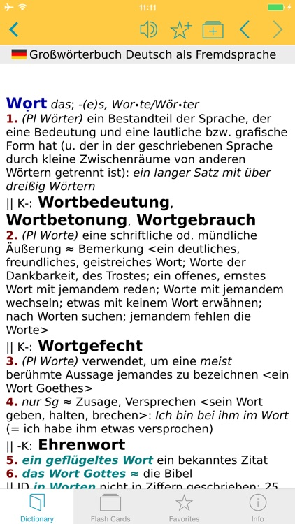 German Learner's Dictionary screenshot-4