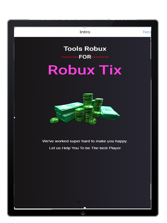 Screenshots of Robux For Roblox Simulator for iPad