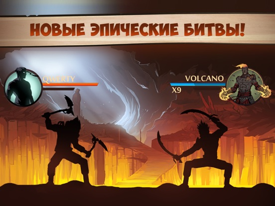 Shadow Fight 2 на iPad