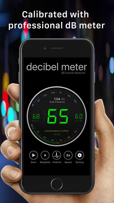 Decibel Meter Sound Detector by Ashraf Thoppukadavil (iOS