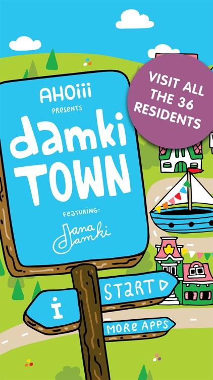 Damki Town Kids Coloring Book