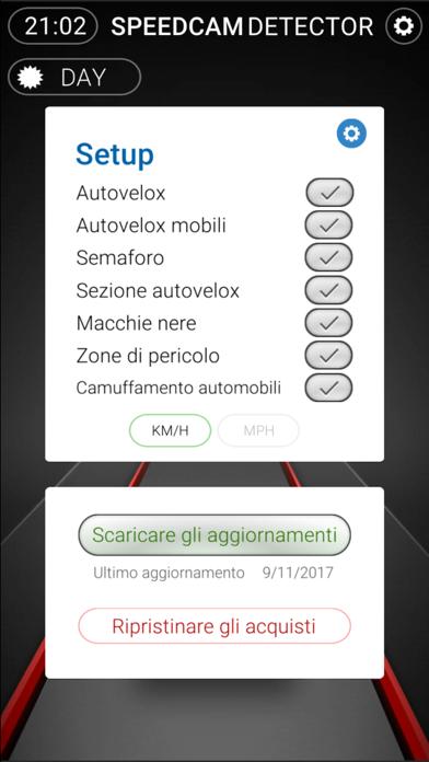 Screenshot of Speedcams Slovenia3