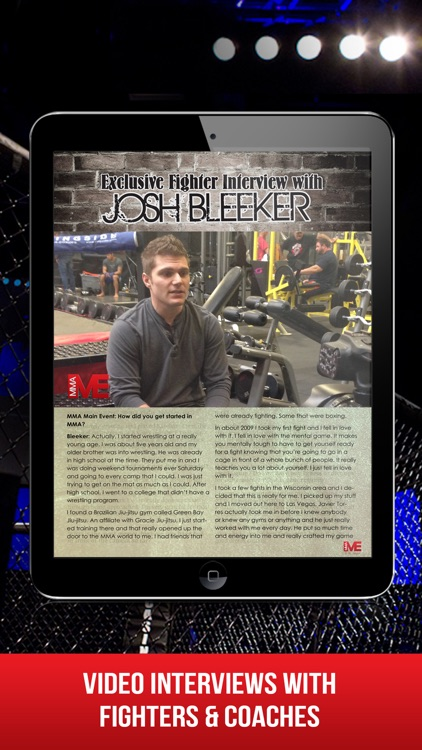 MMA Main Event Magazine screenshot-4