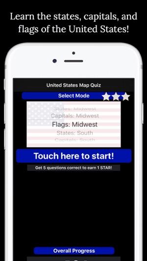 United States Map Quiz Edu Ed on the App Store