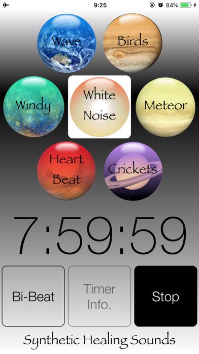 Synthetic Healing Sounds screenshot one