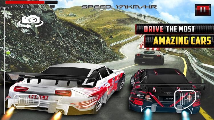 Racing Outlaws Pixel Car Race screenshot-3