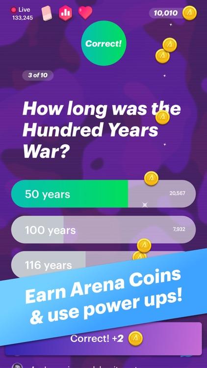 Arena - Live Trivia Battle screenshot-4