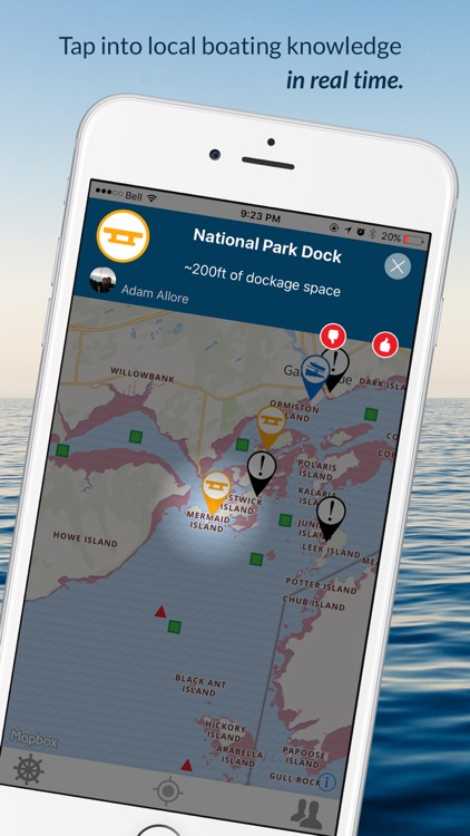 how to use i boating app