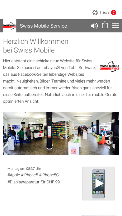 点击获取Swiss Mobile Service