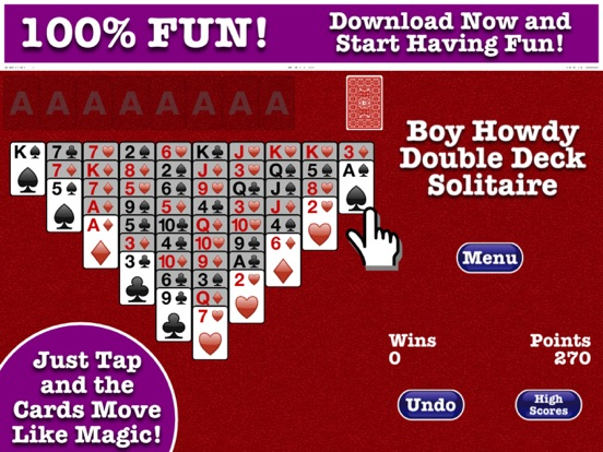 Double Deck Solitaire | App Price Drops