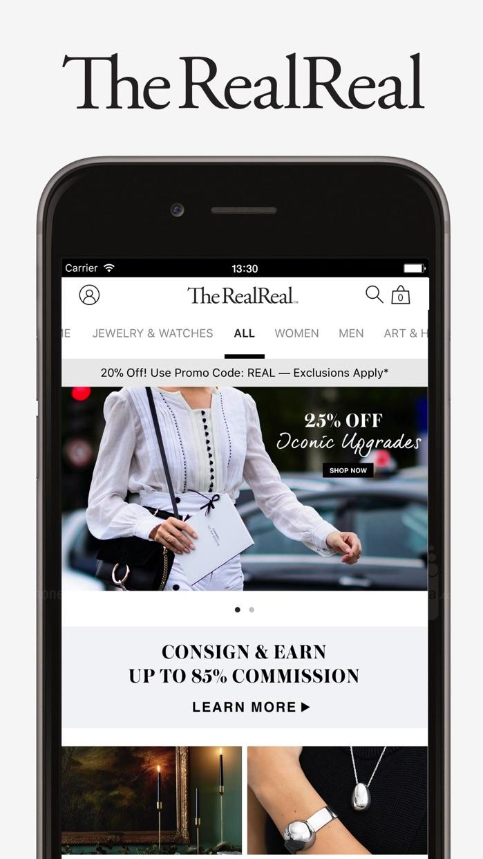 The RealReal - Buy+Sell Luxury Screenshot