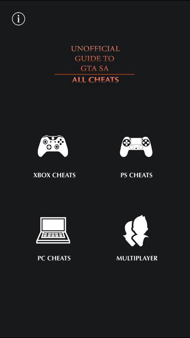 Foto do Unofficial Guide GTA SA Cheats