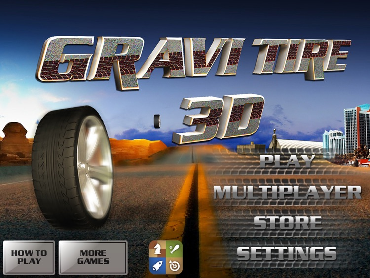 GraviTire 3D HD screenshot-4