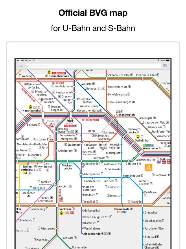 Seoul Subway Map 2018 Pdf.Berlin Subway Bvg U Bahn Map On The App Store