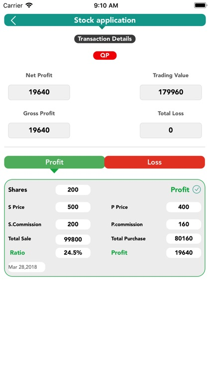 Stocks Calculator screenshot-5