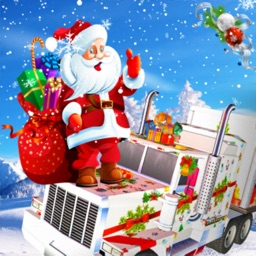 Christmas Gifts Delivery Truck