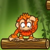 丛林冒险之小猩猩往下跳