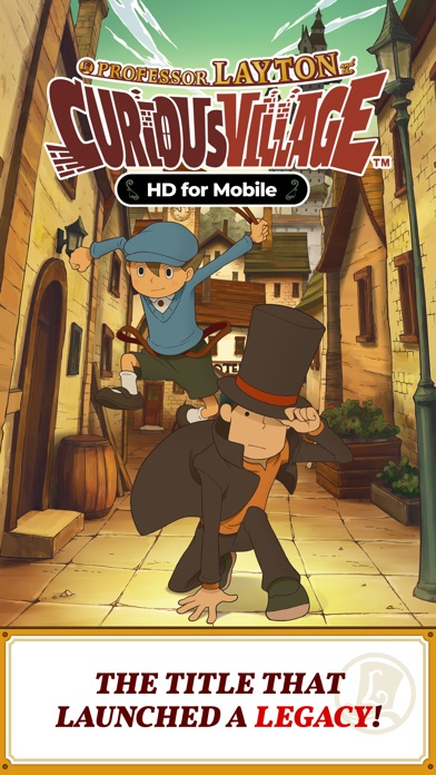 Screenshot for Layton: Curious Village in HD in Czech Republic App Store