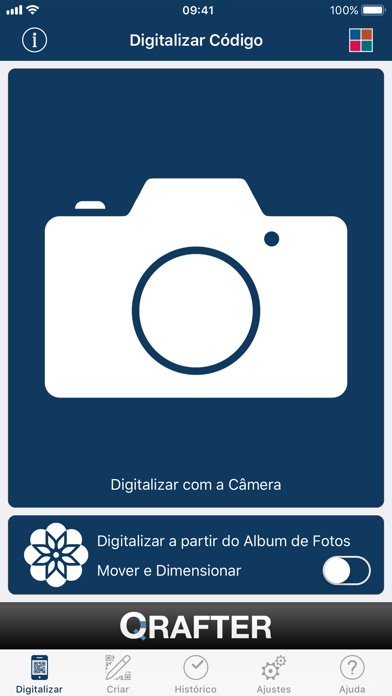 Screenshot for Qrafter Pro - Código QR in Portugal App Store