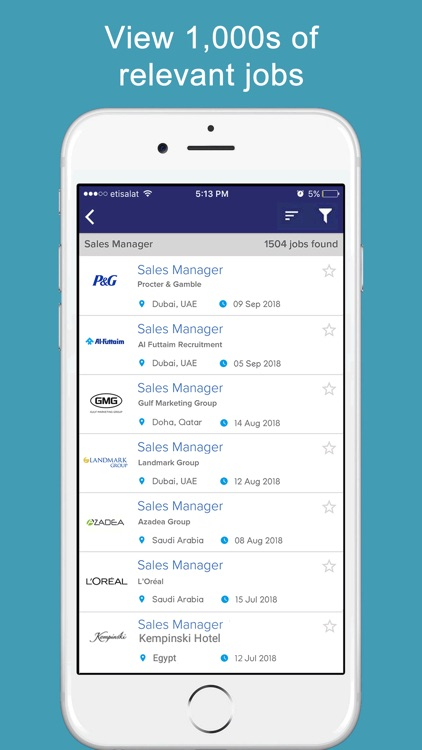 GulfTalent - Job Search App